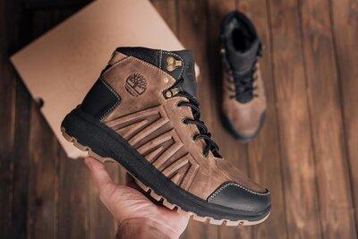 Мужские зимние кожаные ботинки Timberland
