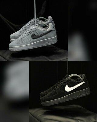 Зимние мужские кеды Nike Air Force 1 07 Mid LV8