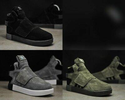 Зимние мужские кроссовки Adidas Tubular