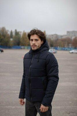 Продано: Куртка мужская зимняя синяя