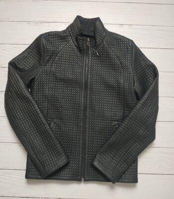 Мужская кожаная двухсторонняя куртка S