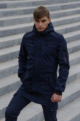 Куртка Intruder Softshell V2.0 синяя