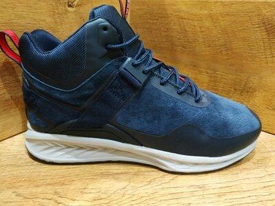 Зимние ботинки кроссовки мужские замшевые BAAS на меху р. 41-46
