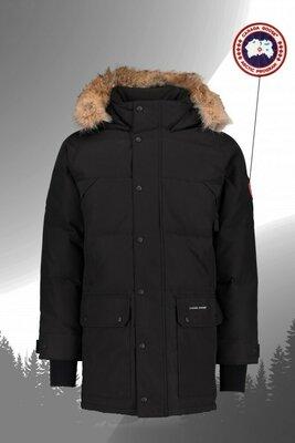 Продано: Зимняя парка Canada Goose Emory Parka Черная