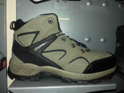 Зимние ботинки кроссовки мужские BONA р. 41-46 натуральный нубук