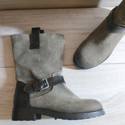 Продано: Кожаные, стильные добротные ботинки от CATARINA MARTINS 36 р - Новые- Оригинал