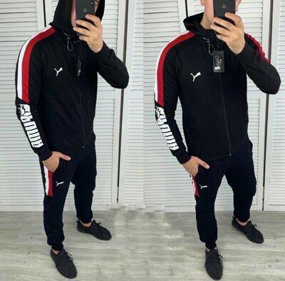 Мужской спортивный костюм на флисе