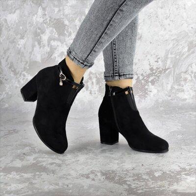 Ботильоны женские черные Bluebeard выбор обуви