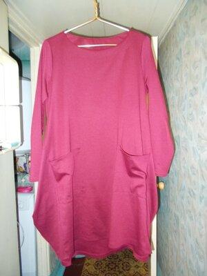 Цена Снижена для тех,кто любит комфорт в одежде,классное платье 54й