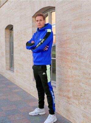 Тёплый спортивный костюм Adidas Синий мужской