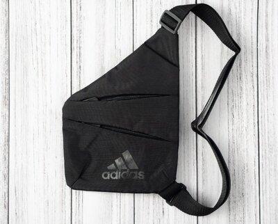 Продано: Сумка через плечо на полечо кобура на грудь барсетка слинг мессенджер кросс боди мужская Adidas