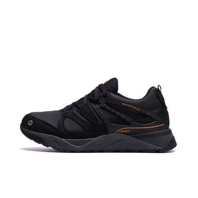 Мужские зимние кожаные кроссовки MERRELL vlbram Black