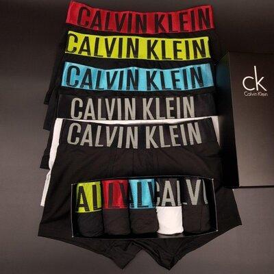 Набор Мужских трусов-боксеров Calvin Klein Intense 5 штук