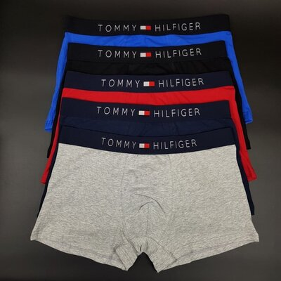 Набор Мужских трусов-боксеров Tommy Hilfiger 5 штук