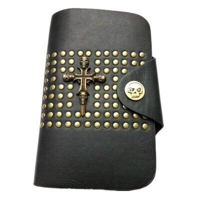 Кошелек портмоне мужской Кооrа из экокожи черный 00522