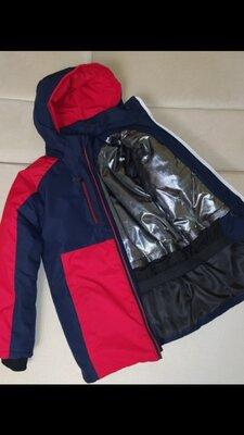Зимняя термо куртка для мальчиков рост 128 - 158 см 7-13 лет