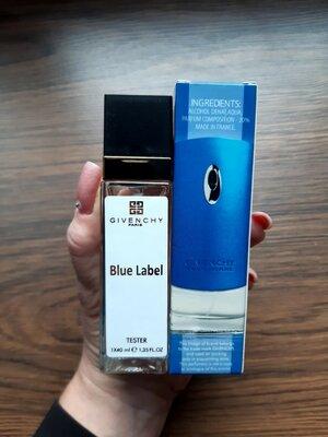 Мужской парфюм Givenchy Blue Label, туалетная вода, парфюмированная вода, мини парфюм, тестер