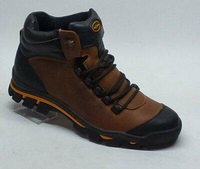 Мужские кожаные ботинки Мида 14937