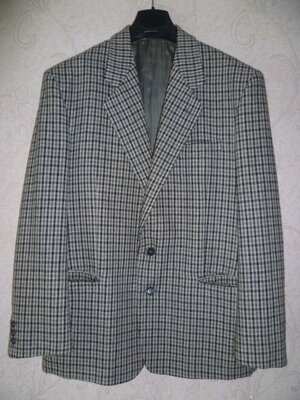 Мужской пиджак mac lane ,блейзер, пиджак, шерсть, чоловічий піджак xl-2xl