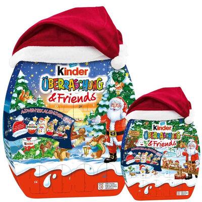 Адвент календарь Kinder Uberraschung & Friend Advent Calendar 431 g