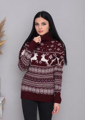 Зимний свитер, свитер женский, женский свитер зимний