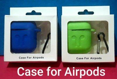 Продано: Силиконовый кейс чехол футляр для Airpods с карабином