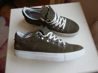 кожаные туфли кроссовки Португалия 43р