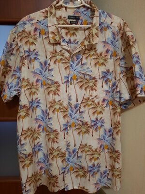 Рубашка яркая XXXL