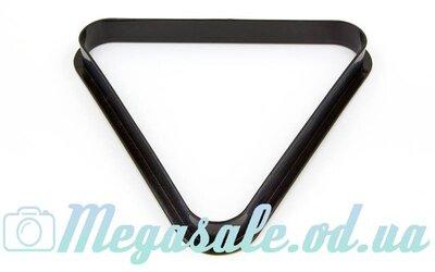 Треугольник для бильярда для шаров 3939-57 для шаров 57мм, пластик