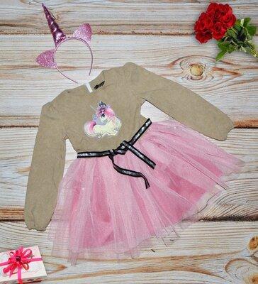Продано: Акция Последний размер Платье на девочку нарядное, обруч в комплекте