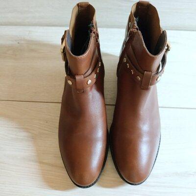 Кожаные стильные женские ботинки от Geox 35-36 р - Оригинал