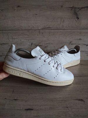 Белые кроссовки Адидас Adidas Stan Smith 42р 26,5 см кожа