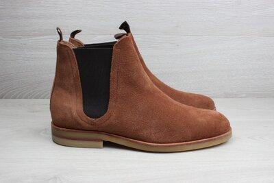 Продано: Мужские замшевые ботинки челси Hudson London, размер 41 - 41.5 chelsea boots