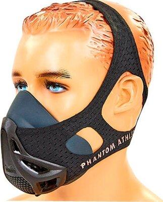 Тренировочная маска аэробная Training Mask Phantom 6042 размер S-L от 45-136кг