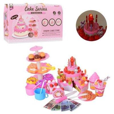 Продано: Продуты YH-03E сладости, торт на липучках, свечи, муз, свет, детский