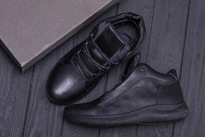 Мужские зимние кожаные ботинки Е-Series New Kinhin