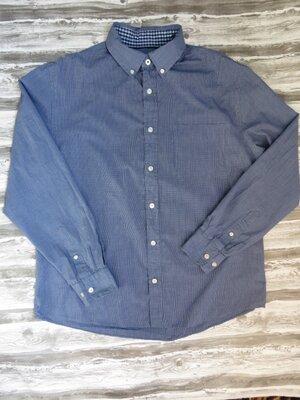 Мужская рубашка с длинным рукавом maine new england размер 52