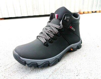 Зимние кожаные мужские ботинки 40-45