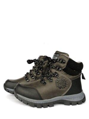 Ботинки детские на мальчика Jong Golf 32, 35 р Серый C834-2