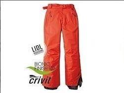 Euro 50, оранжевые новые лыжные штаны мембранные Crivit, Германия