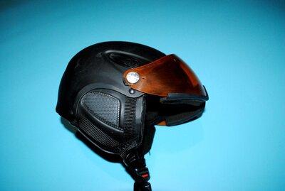 Шлем бренд UVEX 53-56 лыжный с маской горнолыжный Германия alpina