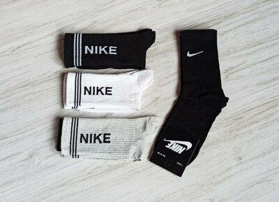 Мужские высокие носки Nike /набор 10 пар