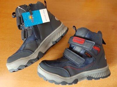р.29, стелька 19см. Новые зимние ботинки сапоги Солнце для мальчиков.