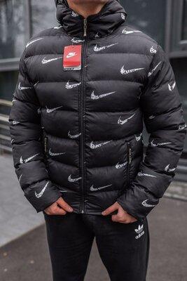 Зимняя стильная мужская куртка, водоотталкивающая плащевка, 2 цвета