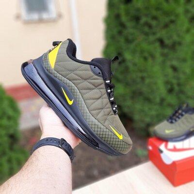Зимние мужские кроссовки Nike Air Max 720 - 878 зелёные