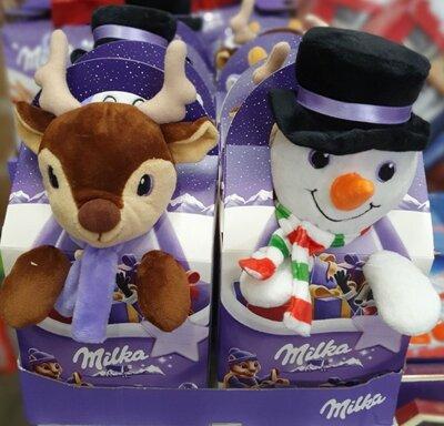 Продано: Новогодние наборы от Милка , подарок