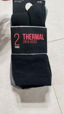 Набор термо носков, теплые носки, 2 пары упаковка Primark