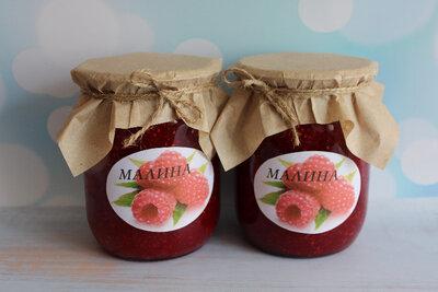 Домашняя консервация - Малина