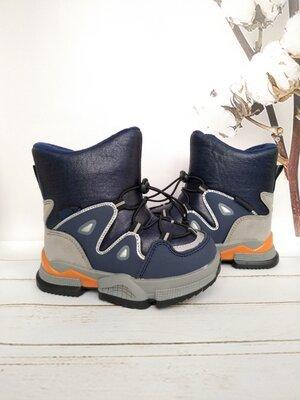 Очень теплые зимние ботиночки на мальчика том.м