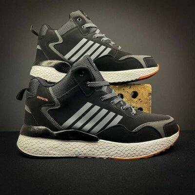Продано: Зимние мужские кроссовки на меху sayota black